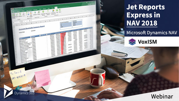 Jet Reports Express in NAV 2018