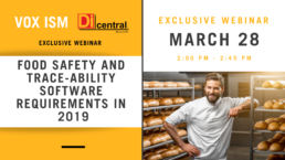 Food Safety and Trace-ability Software Requirements in 2019