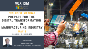 Prepare for the Digital Transformation in Manufacturing industry_VOX ISM