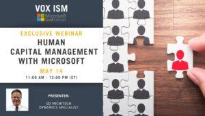 Human Capital Management with Dynamics 365 - May 14 - Webinar