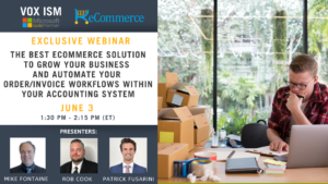 The Best e-Commerce solution to grow your business and automate your order/invoice workflows within your Accounting System - June 3 - Webinar